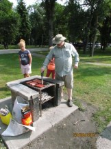 Gord on the grill