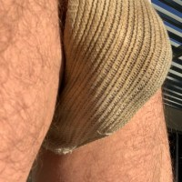 """Asking how long I should wear a jock before washing it. Without missing a beat, my trainer said, """"Let me see it"""". Then he shoved his nose into my groin. I took him home."""
