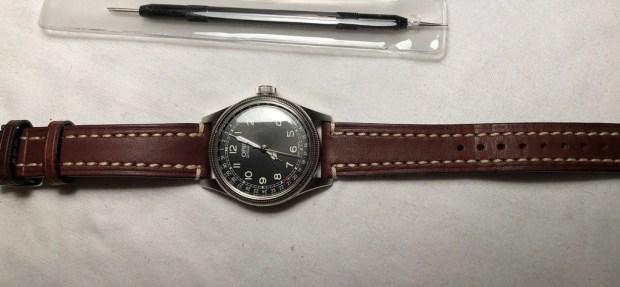 grand Prix styles divers paquet à la mode et attrayant Hirsch 109002-10-20 20 -mm Genuine Calfskin Watch Strap ...