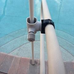 Fishing Chair Umbrella Holder Church Sanctuary Chairs Pool Rail Anchor Strapshade