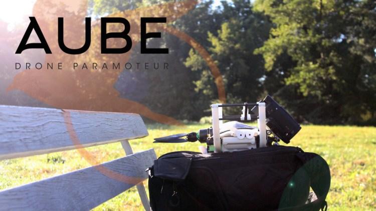 Drone paramoteur