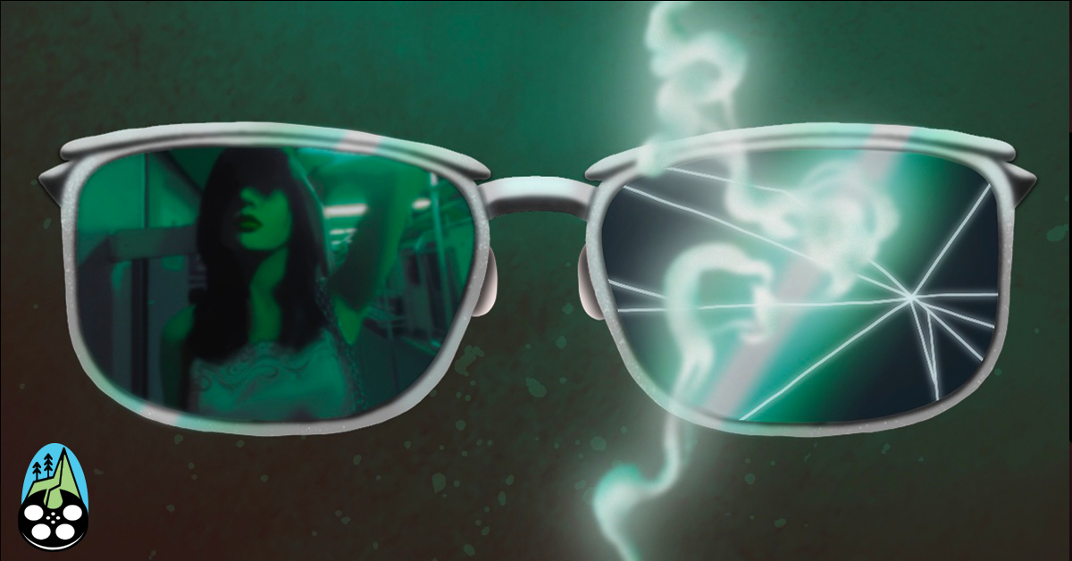 cover image of sunglasses and smoke for feature on film director Wong Kar-wai