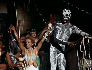 Source: Monster Movie Music | Death (Ademar Da Silva, screen right) in Black Orpheus (1959)