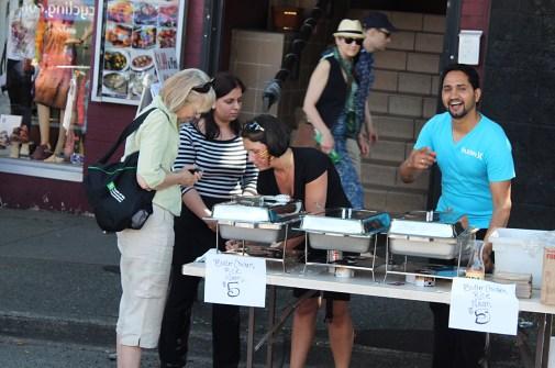 Street Vendor Vancouver
