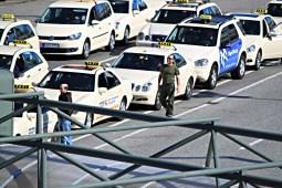 Taxies Berlin Tegel