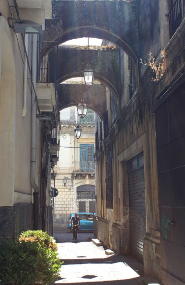 Gasse Sizilien