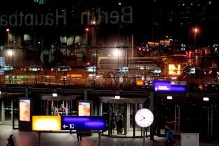main station nightview