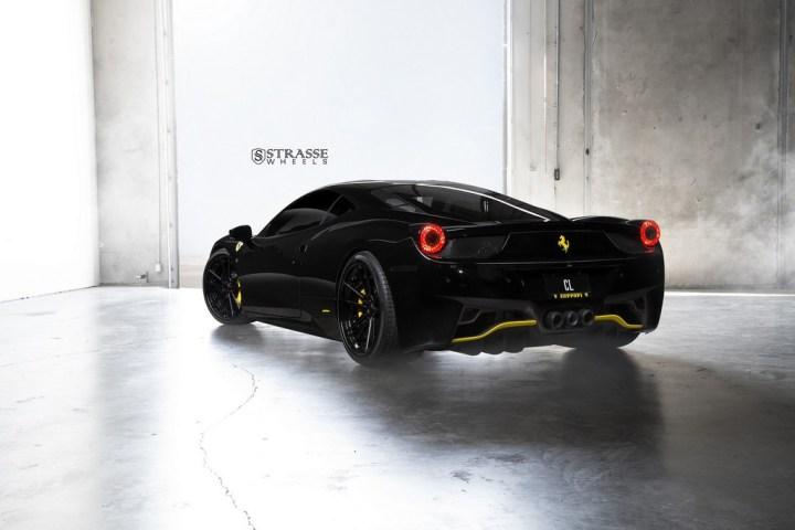 Strasse Wheels Ferrari 458 Italia Black SV1 12