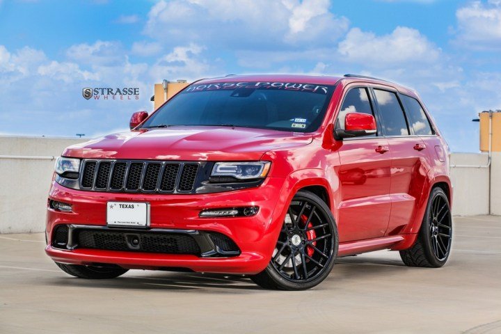 Strasse Wheels - Jeep Grand Cherokee SRT - SM7 Deep Concave 1