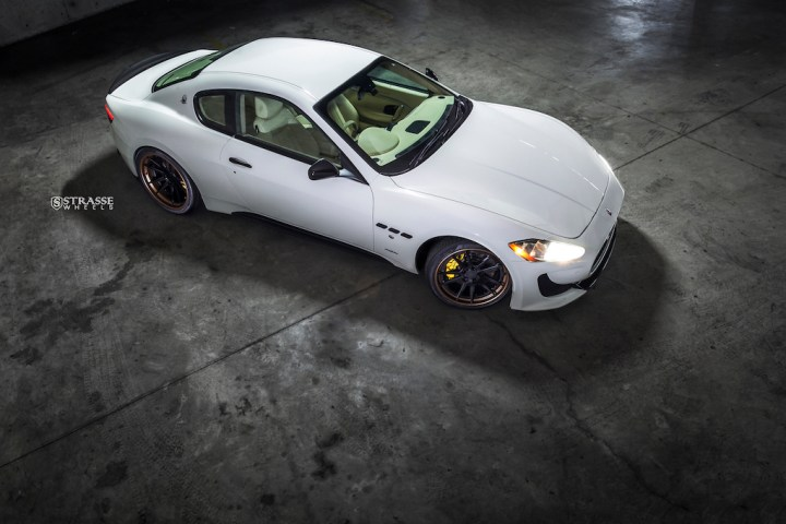 Strasse Wheels - Maserati Gran Turismo S - 20:21 SV1 Deep Concave FS 8