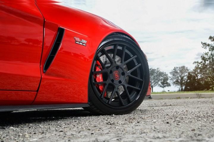 Strasse Wheels Twin Turbo Corvette Z06 3