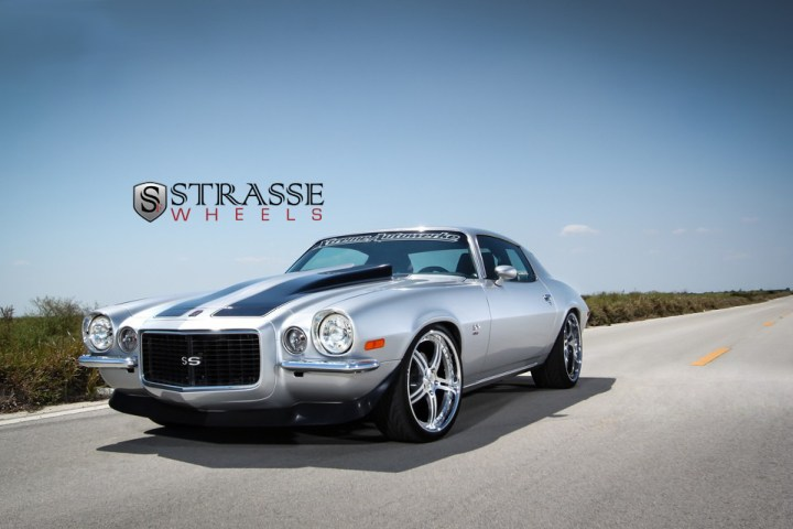 Strasse Forged Wheels 72 Camaro SS 1