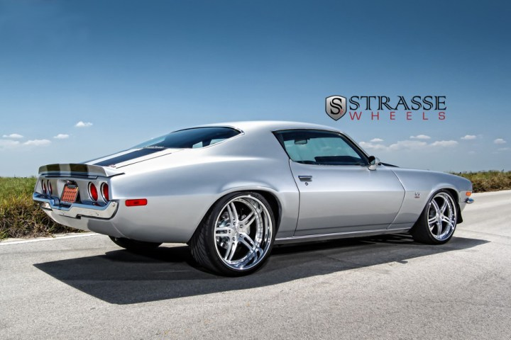 Strasse Forged Wheels 72 Camaro SS 10