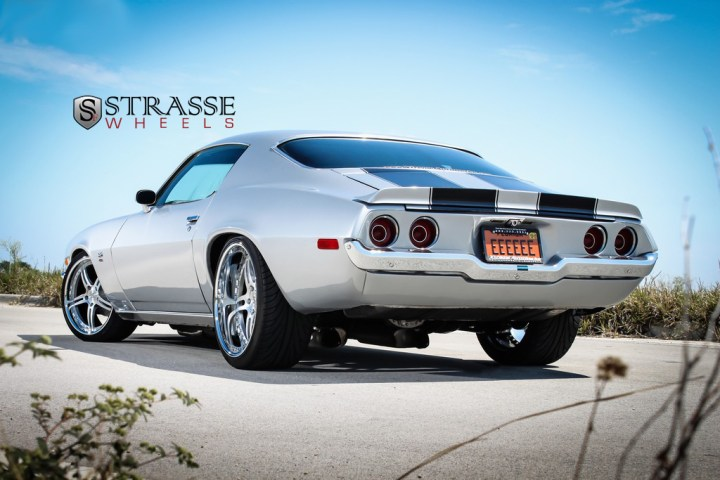 Strasse Forged Wheels 72 Camaro SS 11