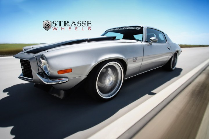 Strasse Forged Wheels 72 Camaro SS 3