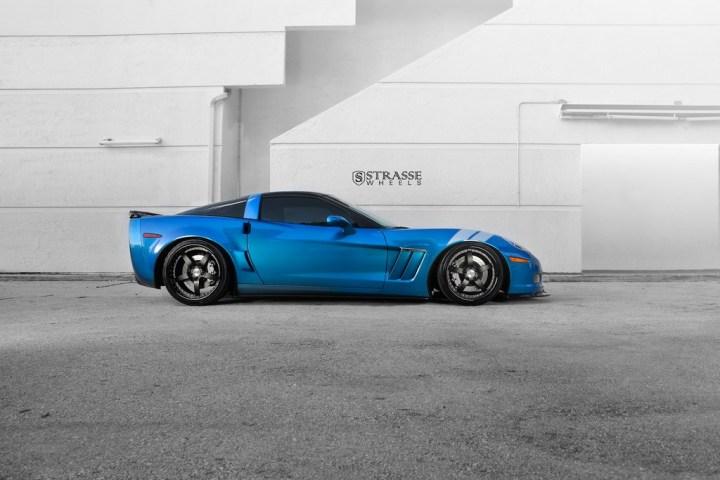 Strasse Wheels Corvette Gransport 8