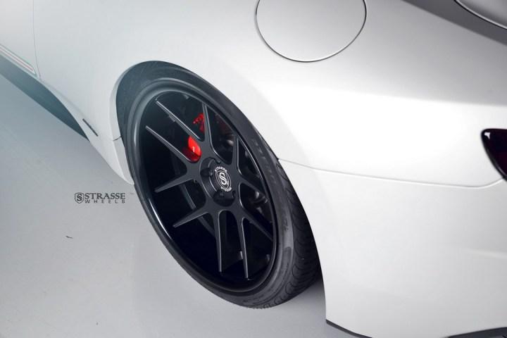 Strasse Wheels Matte White Maserati Gran Turismo 1214