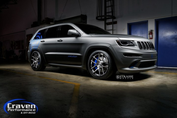 Strasse Wheels Supercharged Jeep SRT 2