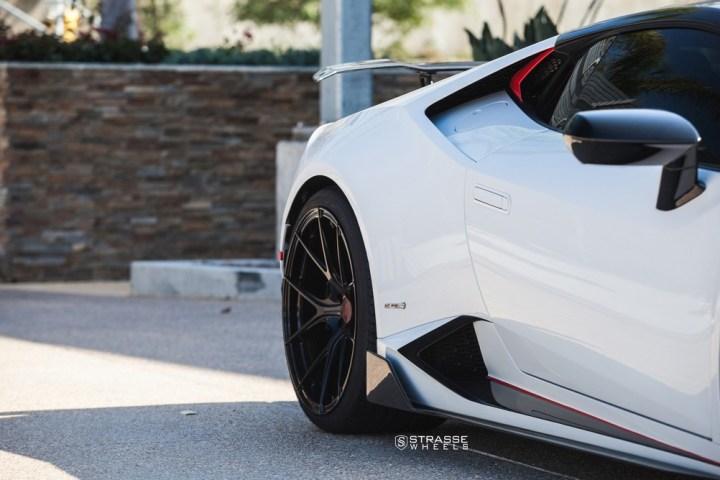 Strasse Wheels - Lamborghini Huracan LP610-4 - 20/21 SM5R Deep Concave Monoblock - Carbon Fiber Edition 12