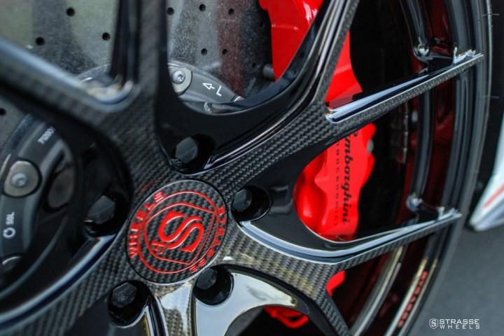 Strasse Wheels - Lamborghini Huracan LP610-4 - 20/21 SM5R Deep Concave Monoblock - Carbon Fiber Edition 5
