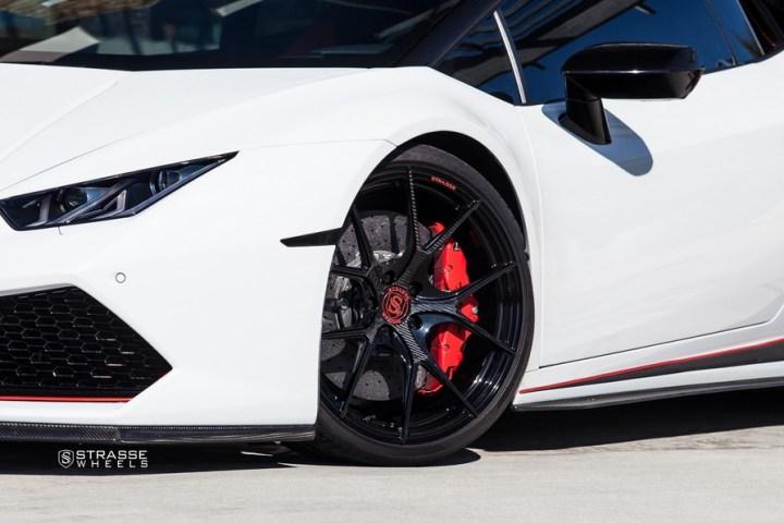 Strasse Wheels - Lamborghini Huracan LP610-4 - 20/21 SM5R Deep Concave Monoblock - Carbon Fiber Edition 7