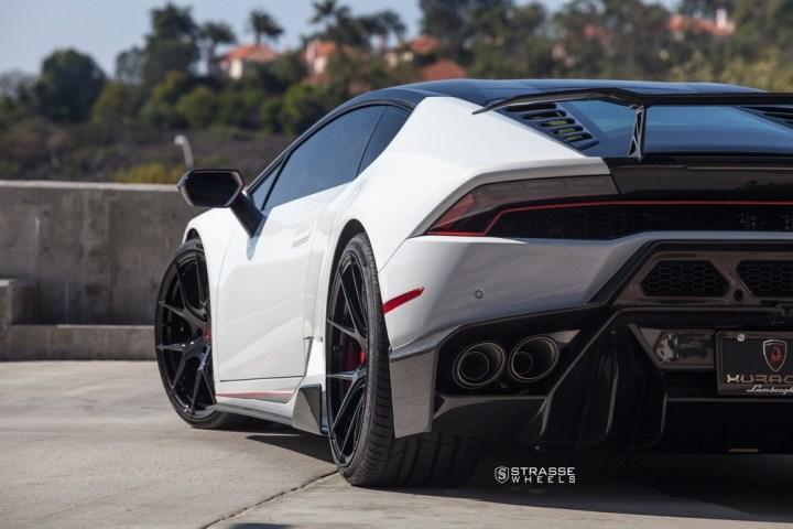 Strasse Wheels - Lamborghini Huracan LP610-4 - 20/21 SM5R Deep Concave Monoblock - Carbon Fiber Edition 10