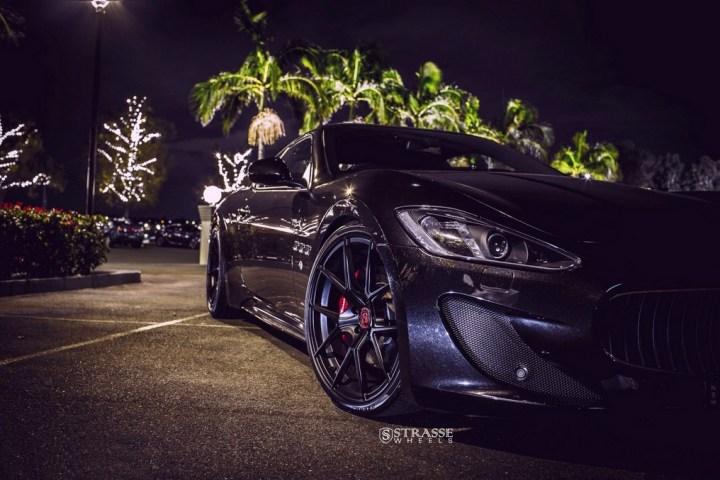 Strasse Wheels Maserati Gran Turismo S Black 5