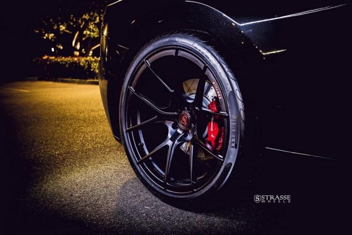 Strasse Wheels Maserati Gran Turismo S Black 7