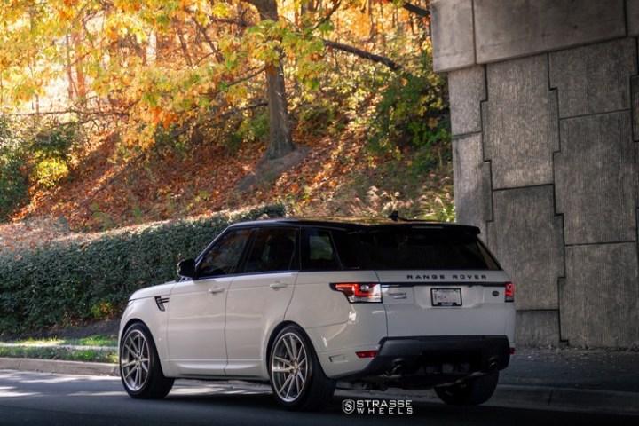 Strasse Wheels Range Rover HSE Sport SV1 16
