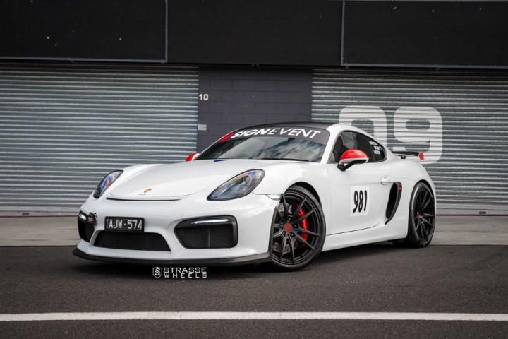 Strasse Wheels Porsche Cayman GT4 SV1 1