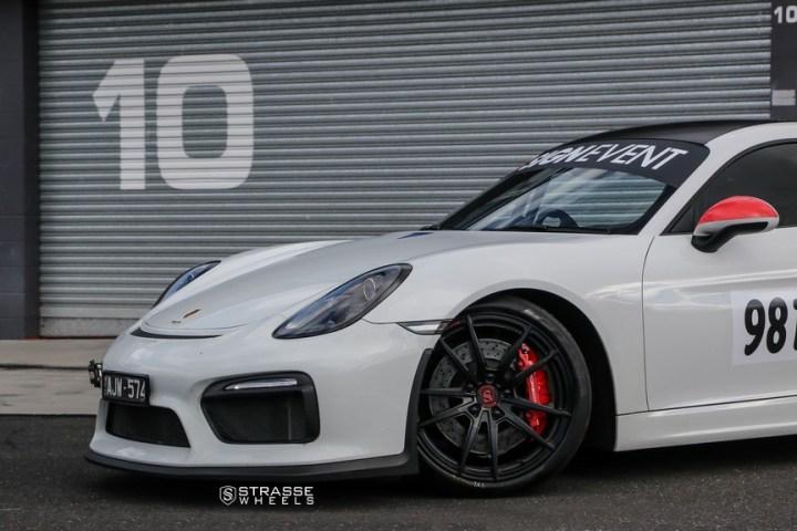 Strasse Wheels Porsche Cayman GT4 SV1 8