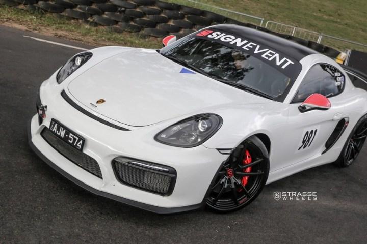 Strasse Wheels Porsche Cayman GT4 SV1 9