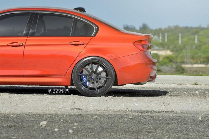 Strasse Wheels Sakhir Orange BMW M3 11