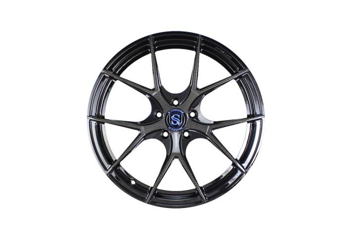 Carbon Fiber Edition SM5R Deep Concave Monoblock - Blue Logo 1