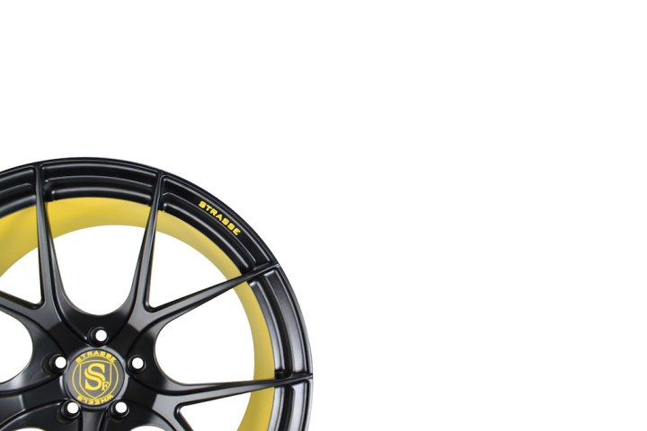 SM5R Concave Monoblock - Satin Black & Yellow Barrel 2