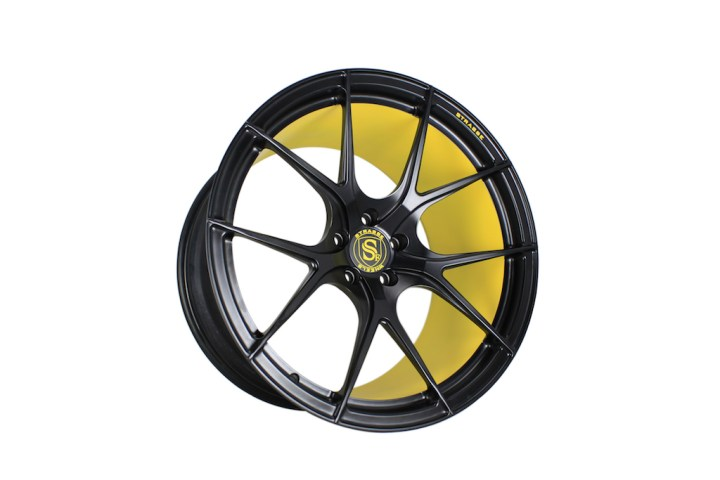 SM5R Concave Monoblock - Satin Black & Yellow Barrel 5