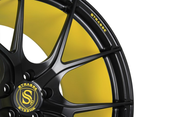 SM5R Concave Monoblock - Satin Black & Yellow Barrel 6