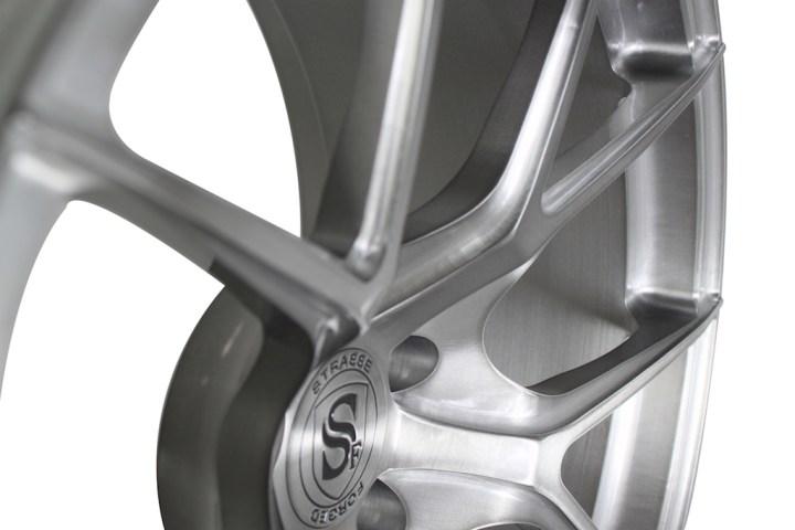 SM5R Deep Concave Monoblock - Brushed Titanium 9