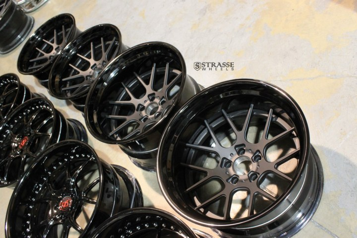 SM7 Deep Concave FS - Matte Black & Gloss Black 16