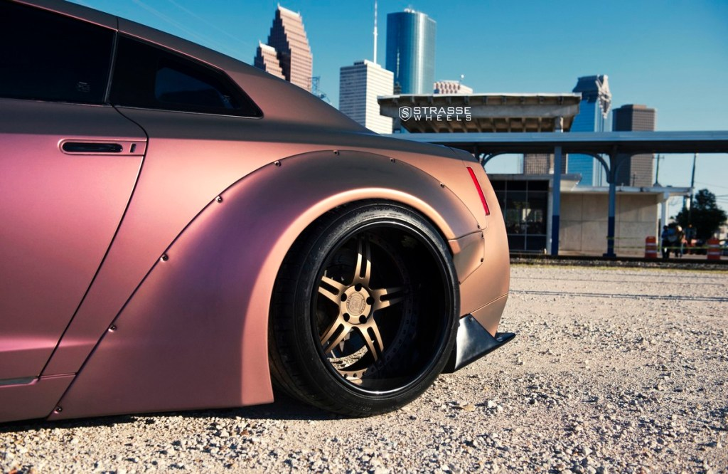Strasse Wheels - Liberty Walk Wide Body Nissan GT-R - SP5R Signature Series 13