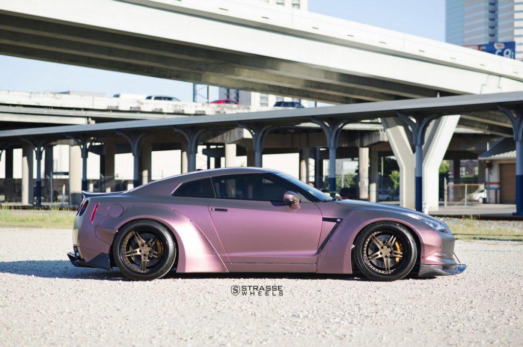Strasse Wheels - Liberty Walk Wide Body Nissan GT-R - SP5R Signature Series 9