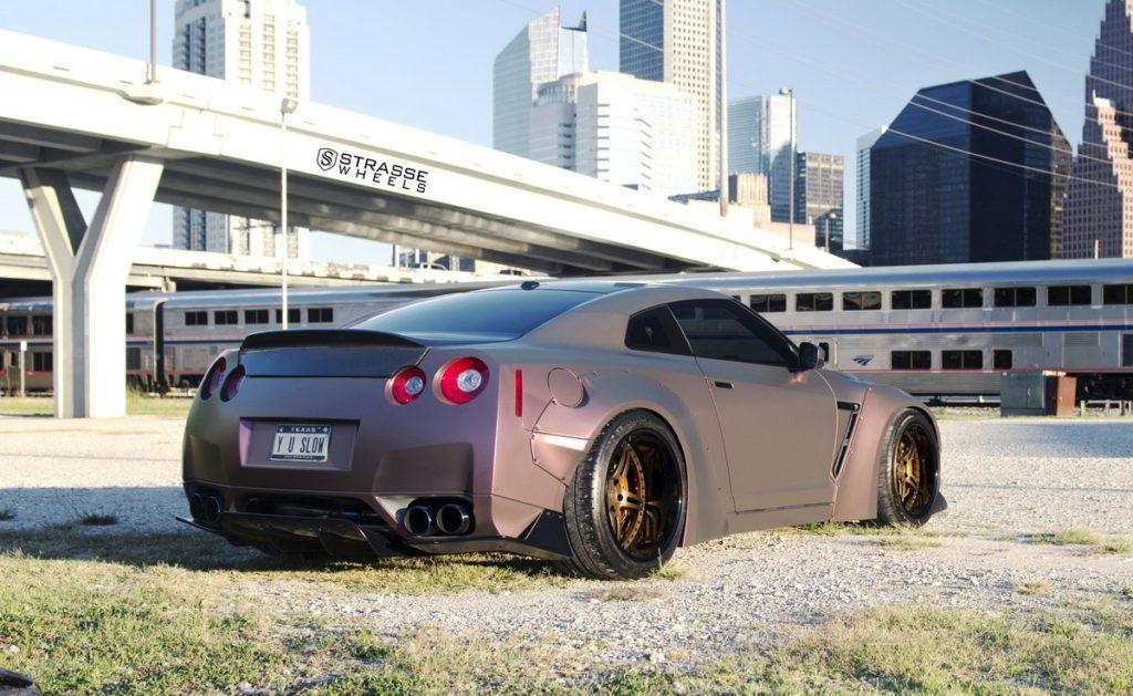 Strasse Wheels - Liberty Walk Wide Body Nissan GT-R - SP5R Signature Series 6