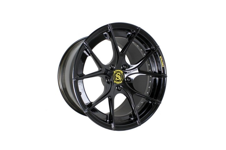SM5R Deep Concave Duoblock - Gloss Black 2