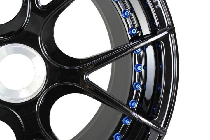 SM5R Deep Concave Duoblock - Gloss Black & Blue HW 5