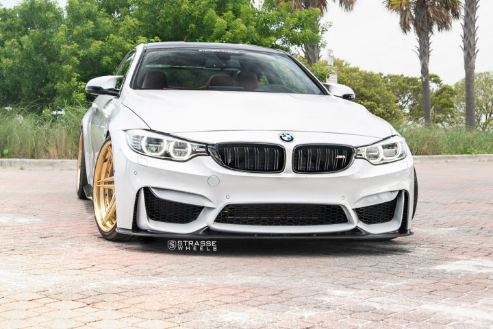 BMW F82 M4 - SV2T Deep Concave FS - Gold - Rob 4