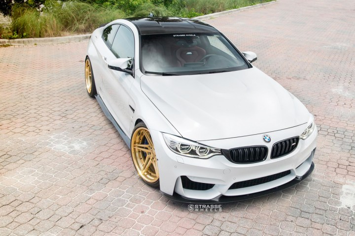 BMW F82 M4 - SV2T Deep Concave FS - Gold - Rob 6