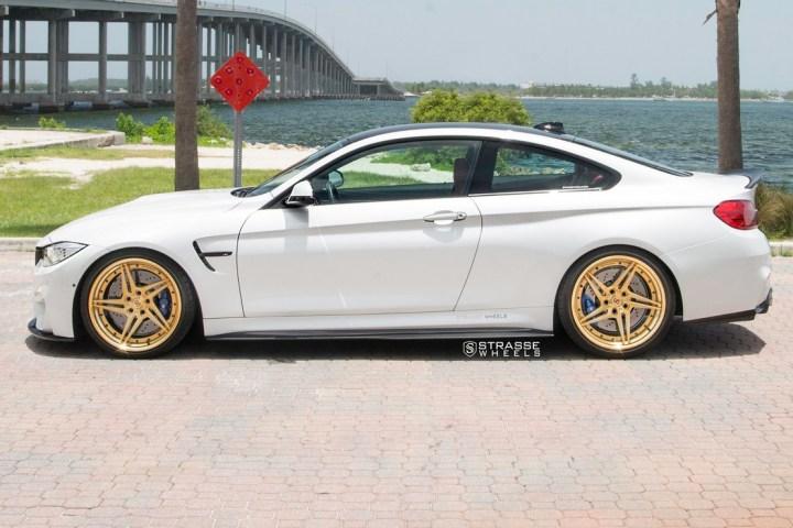 BMW F82 M4 - SV2T Deep Concave FS - Gold - Rob 9
