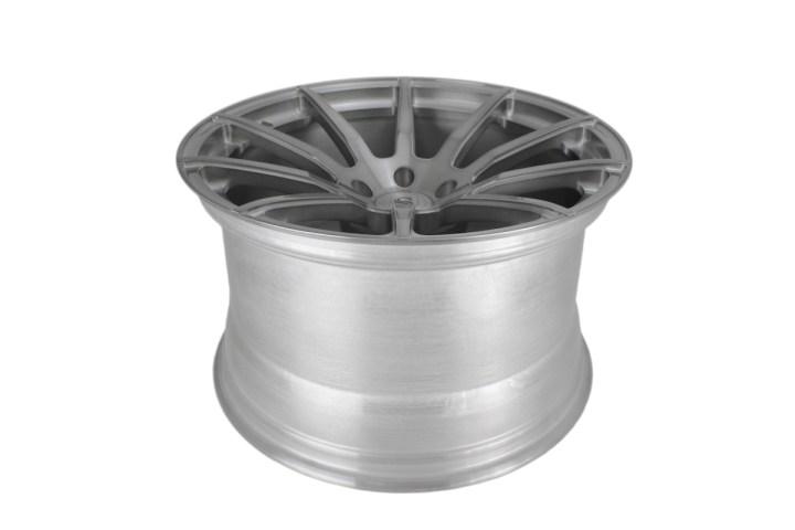 R10 Deep Concave Monoblock - Gloss Brushed Titanium 8