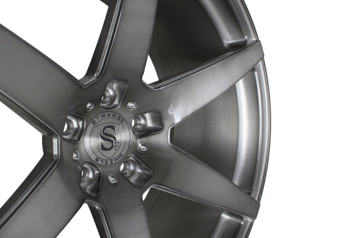 S6 Deep Concave Monoblock - Gloss Brushed Titanium 6