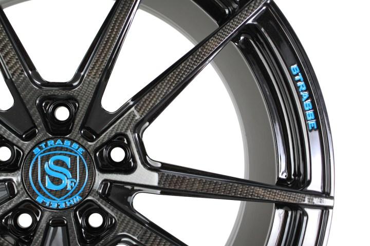 SV1 Deep Concave Monoblock - Carbon & Miami Blue 2